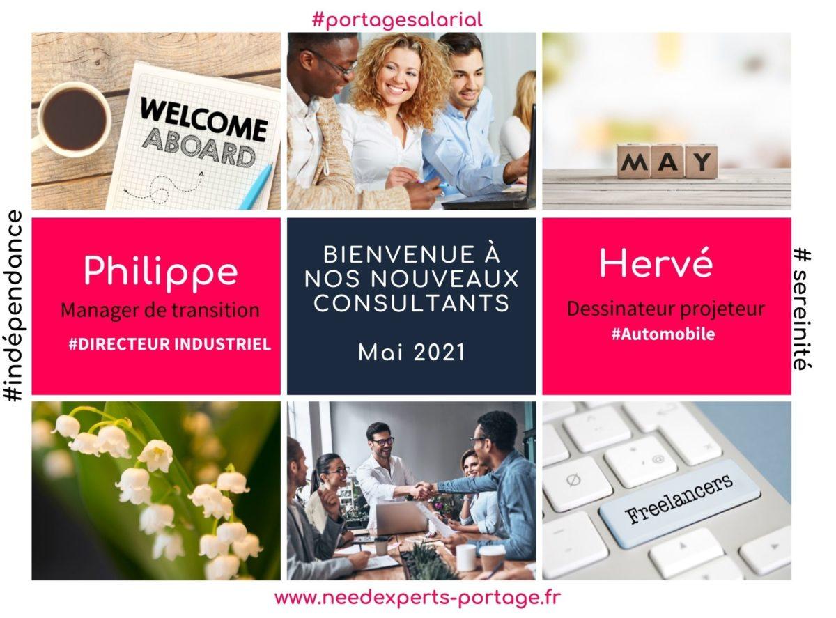 News Mai 2021 - Nouveaux consultants NEEDEXPERTDS