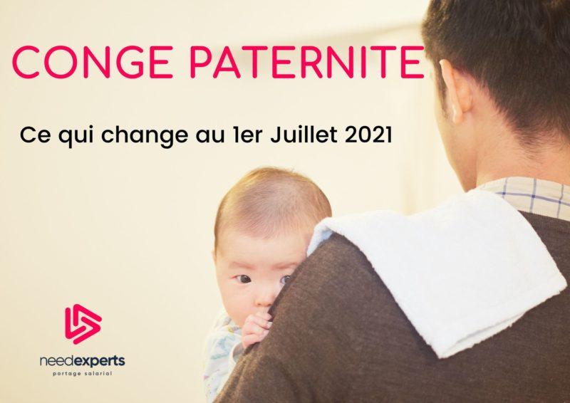 Congé paternité 🍼 25 jours à compter du 1er Juillet 2021