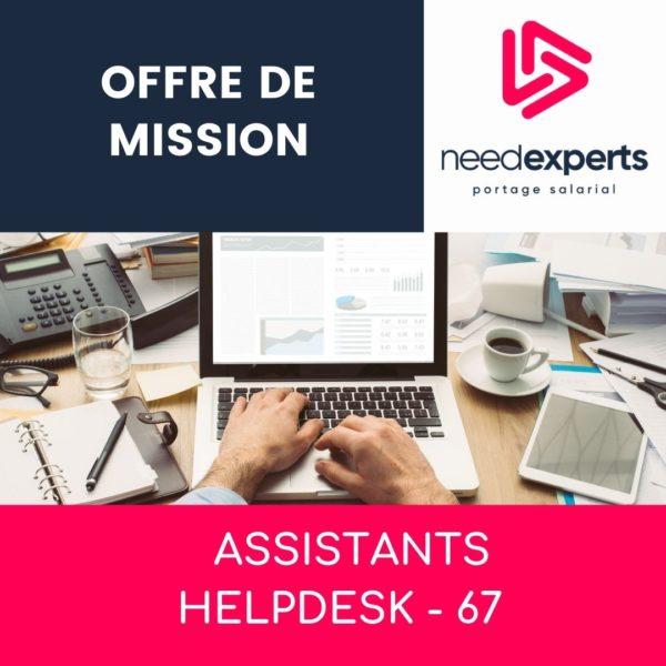 Offre de mission – Assistant Helpdesk – Strasbourg – Juin 2021