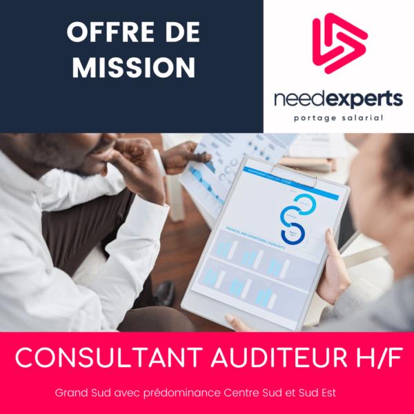 Offre de mission - Consultant auditeur -  Grand Sud  - Septembre 2021