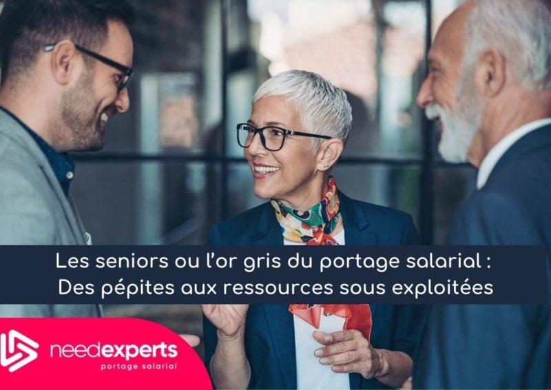 Les seniors ou l'or gris du portage salarial : Des pépites aux ressources sous exploitées !